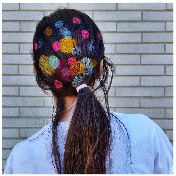 Trending Now: Hair Stenciling — and It's Easier To Do Than It Looks!
