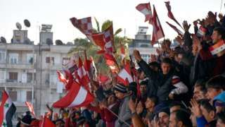 Football returns to Aleppo after five years of war