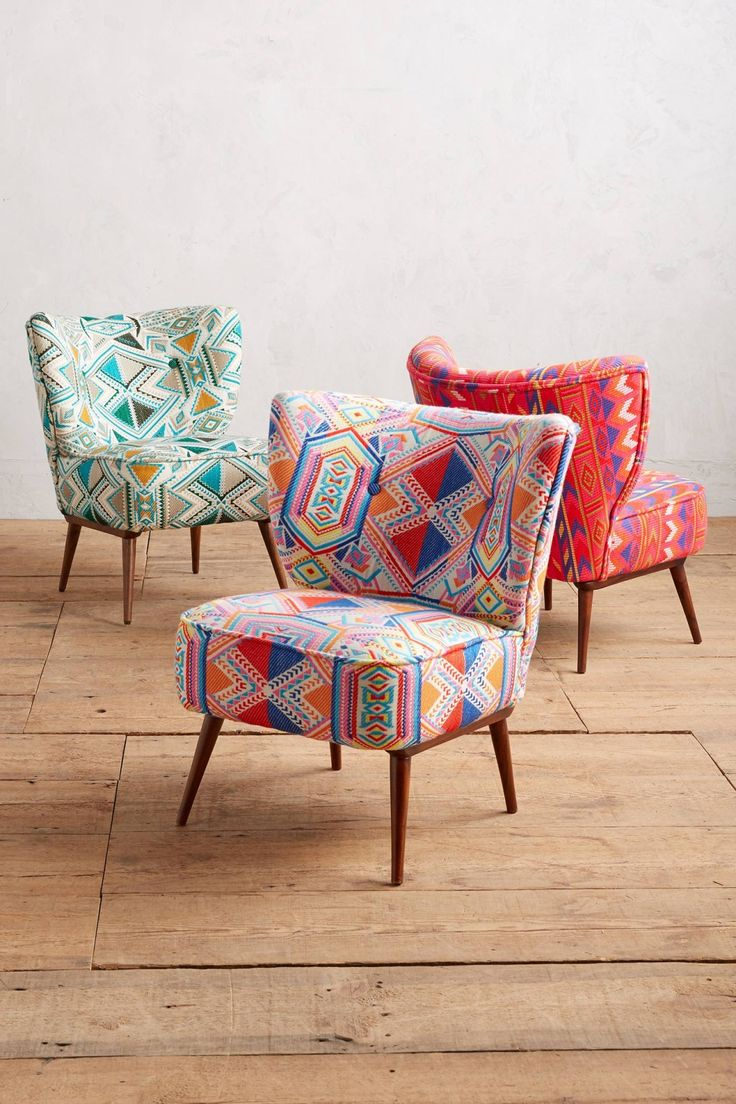Colourful accent chairs - Kezia Occasional Chair