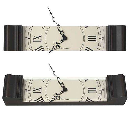 Good Kikkerland Sliced Grandfather Clock | Urban Taster Photo