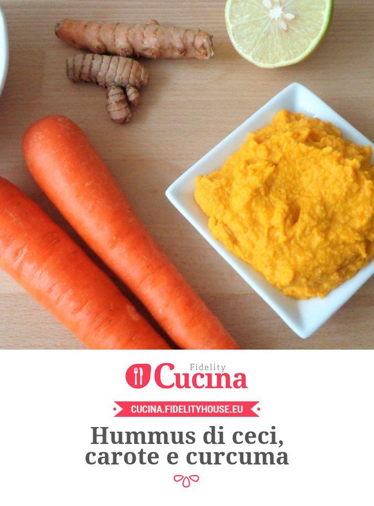Hummus di ceci, carote e curcuma della nostra utente Magdalena. Unisciti alla nostra Community ed invia le tue ricette!