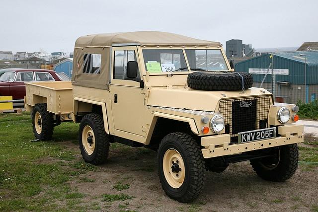 1968 Land Rover Lightweight by grobertson4, via Flickr