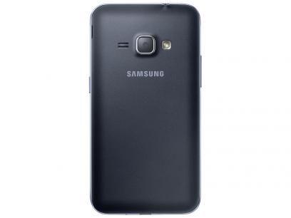 """Smartphone Samsung J1 8GB Preto Dual Chip 3G - Câm. 5MP Tela 4,5"""" Proc. Quad Core Android 5.1 com as melhores condições você encontra no Magazine Rodrigosantana21. Confira!"""