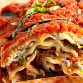Vegan Lasagne With Eggplant and Mushrooms - Heart Healthy