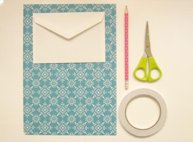 DIY: je eigen enveloppen maken | Éénig Wonen