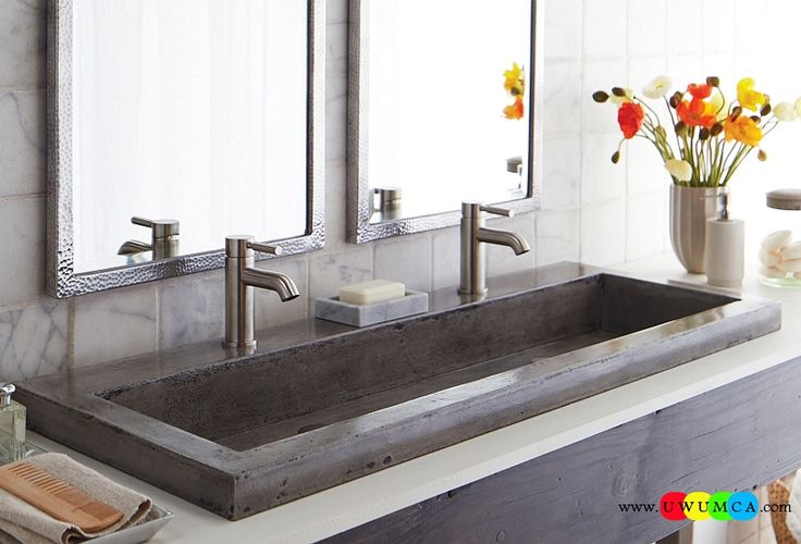 Bathroom:Contemporary Modern Artisan Crafted Sinks Handcrafted Vessel Metal Sink Bathroom Interior Furniture Decor Design Ideas Let The Sink Steal The Show In Your Bathroom Eco-Conscious, Artisan Crafted Sinks Sparkle With Contemporary Class