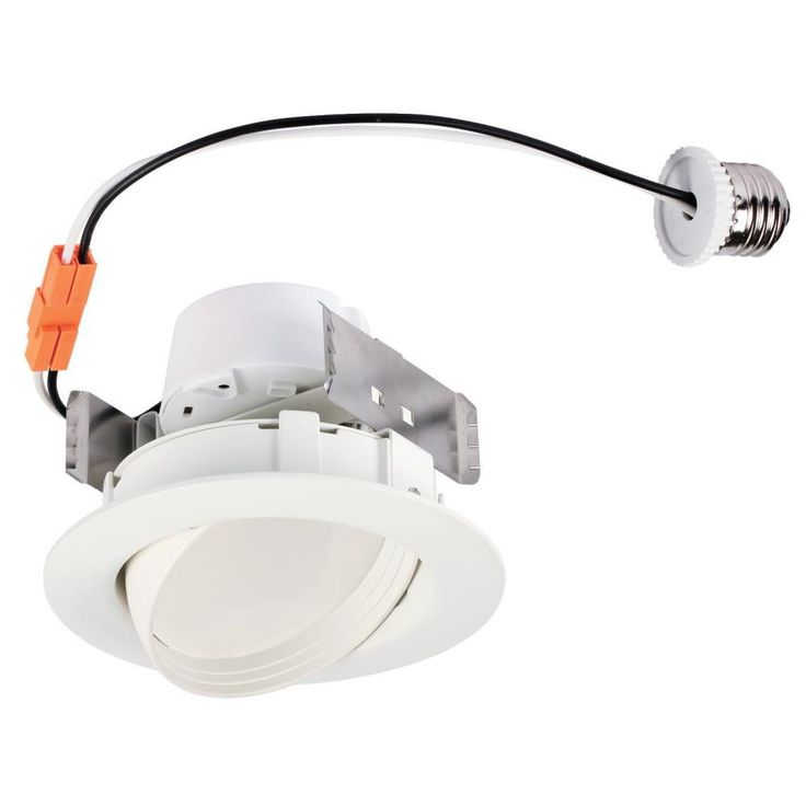 Westinghouse 4 In White Integrated Led Recessed Trim Recessed Lighting Trim Downlights Lighting