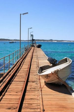 Rugged beauty: the boardwalk at Kangaroo Island.