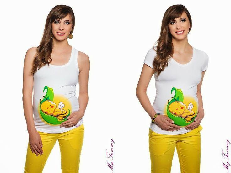 Abbigliamento premaman My Tummy: T SHIRT PREMAMAN SIMPATICI