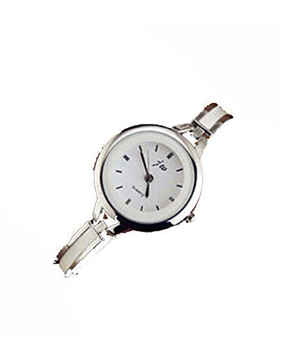 SAMGU 2015 Mode Round Quartz Analog Mode Kleid Armband Armbanduhr Frauen Uhren wrist watch Farbe Silber & Weiß - http://uhr.haus/samgu/samgu-geflochten-armband-quarzuhr-uhren-quarz-16