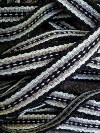 Inkle loom band pattern