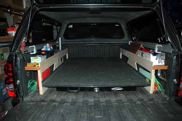 Truck Bed Slide | bedslide empty bedslide heavily loaded steve c j gracie rough