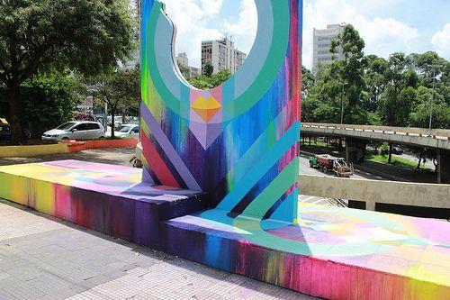 O trabalho de NOVE e a chance de participar de um Workshop de graffiti como artista