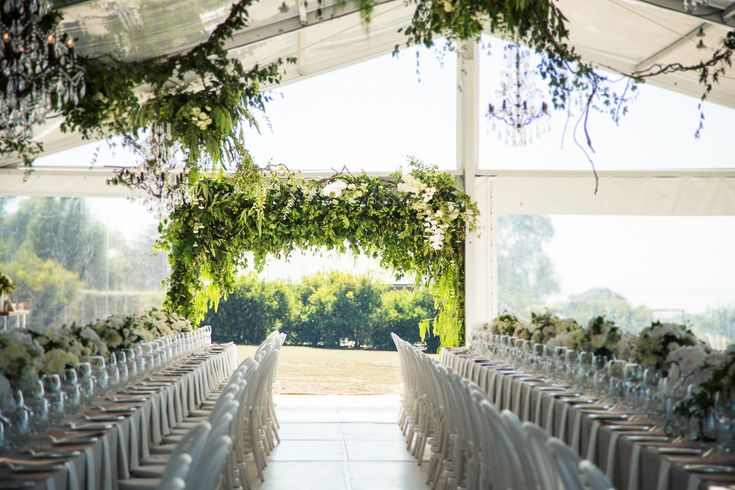 Nadia + Jim: Marquee wedding Melbourne by The Style Co.