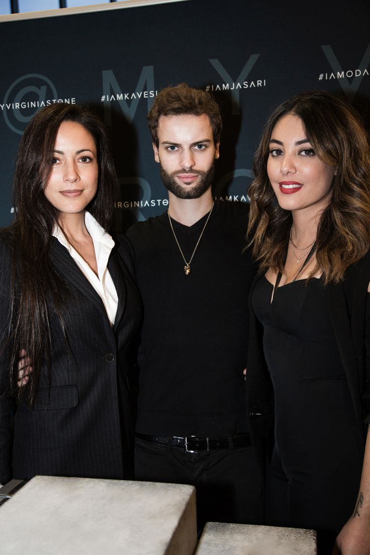 The Virginia Stone® Team at FounderMade in NYC.  #virginiastone #mua #beauty #founder