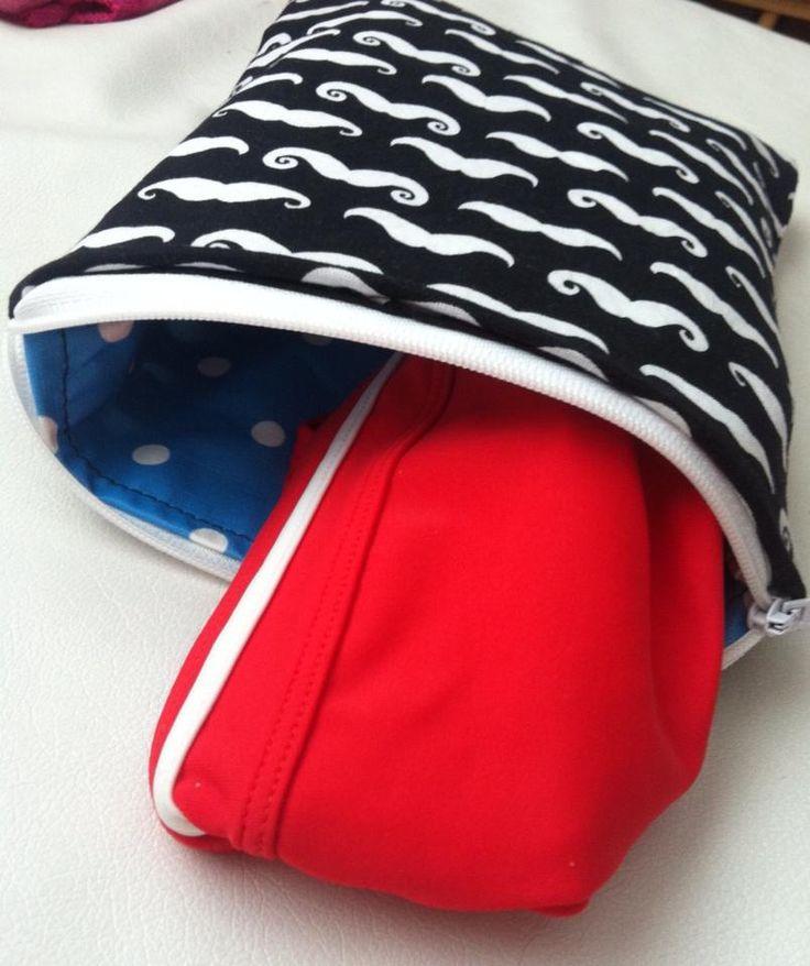 Wenn's regnet - dann nehm ich meinen Schokoschirm :): [Nähen] Bikini - Tasche