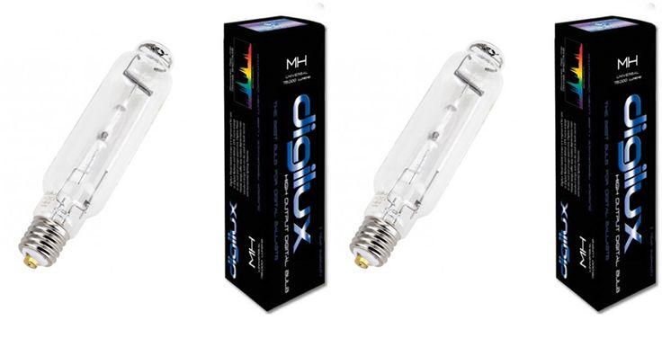 Digilux DIGILUX 400W MH DX400 Hydroponics Digital Metal Halide Grow Light Bulbs (Pair) DX400MH,    #Digilux Hydroponics