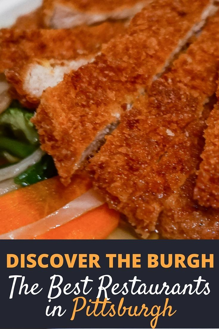 When it comes to restaurants, Pittsburgh is home to some of the country's best. From the local favorites, hole-in-the-wall international restaurants, to gourmet gems that receive worldwide attention, you can find the best ones by clicking here..