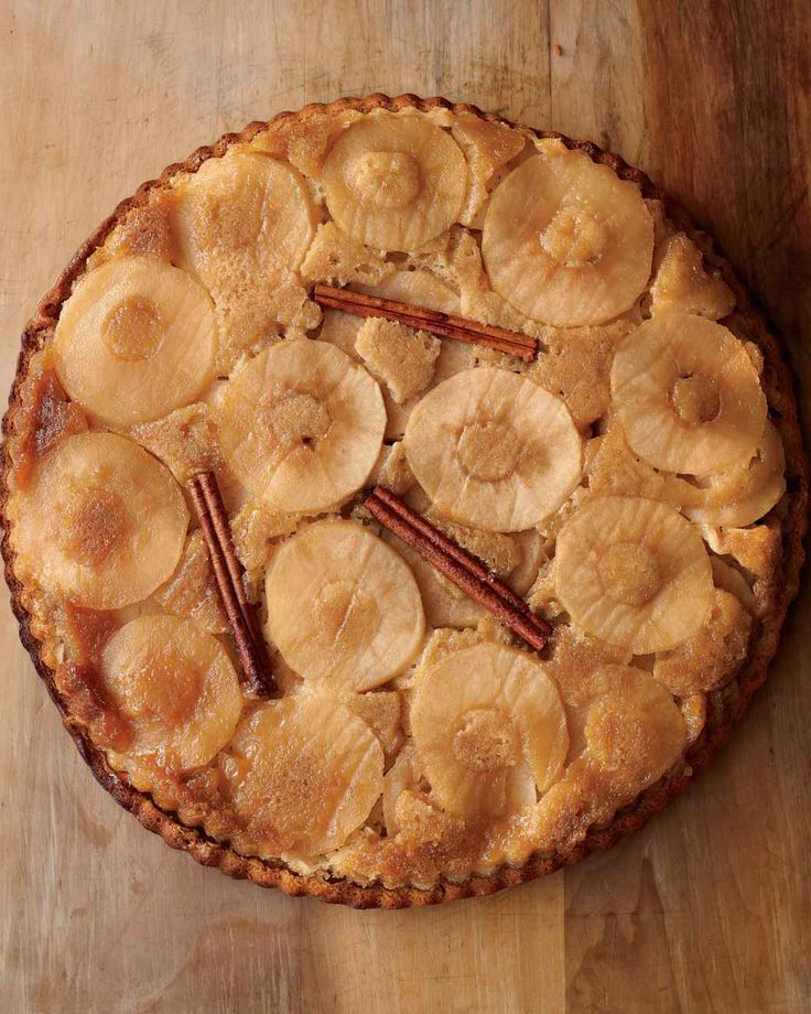Apple Pie Upside-Down Cake