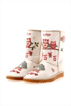 elite goby owl boots colorful