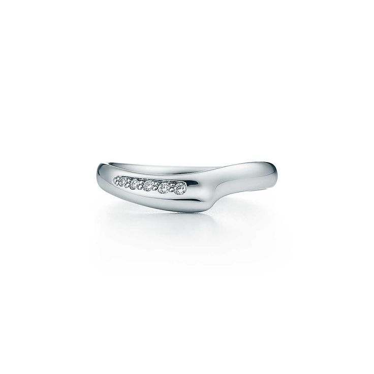 Elsa Peretti®:Open Heart Band Ring