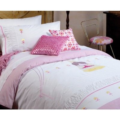 Pirouette Quilt Cover Set by Kas Kids