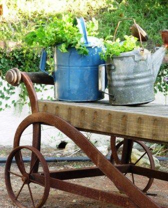 Leaving things random decor in your garden