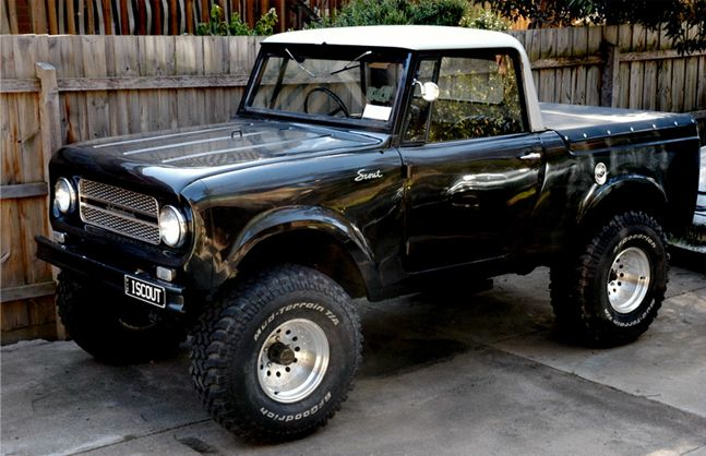 International Harvester Scout SSII