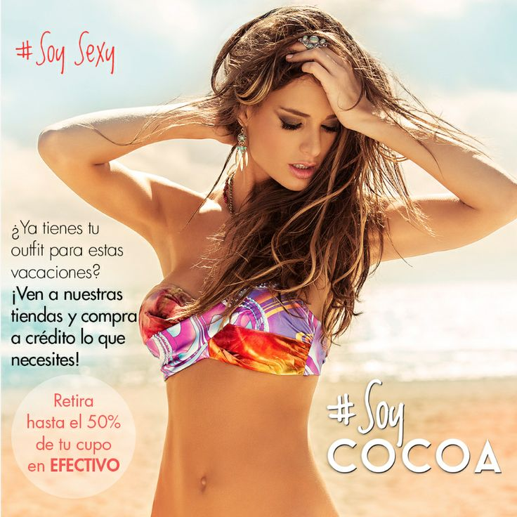 Disfruta estas vacaciones al mejor estilo @Cocoa Jeans ⛅️