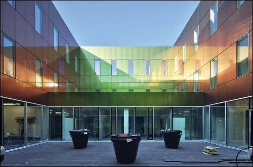 Brunet Saunier tarafından Marne-la-Vallee Hastanesi - Cyberarchi