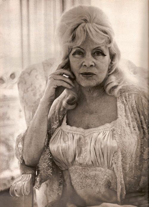 Mae West by Diane Arbus 1965