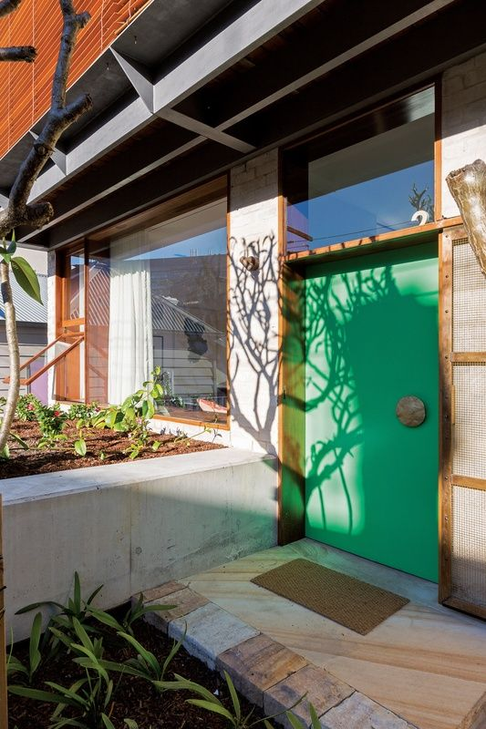 The Courtyard House by Amelia Holliday and Isabelle Toland of Aileen Sage Architects