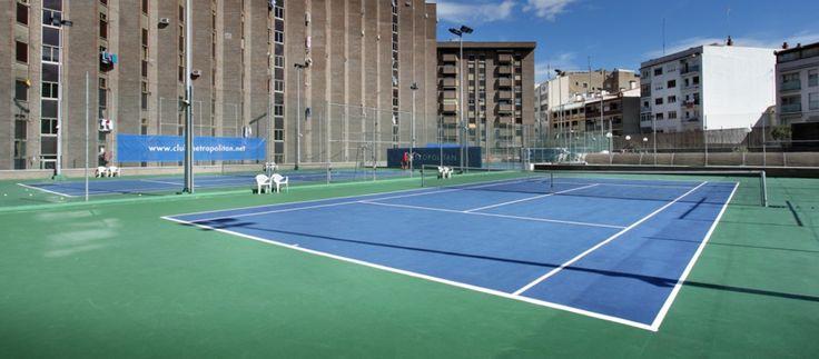 Gimnasio Metropolitan Paraíso, tenis, pádel