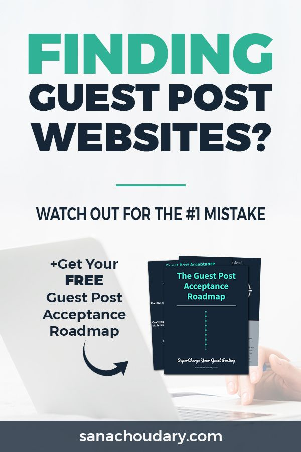 Finding guest post websites? Watch out for the #1 mistake