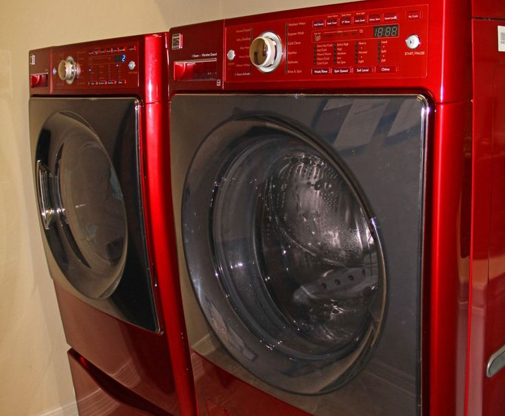 How to Empty and Clean Out the Drain Pump on a Front Load Washing Machine! It's a good idea to clean the drain pump on a monthly basis to keep your washer running properly! #HowTo