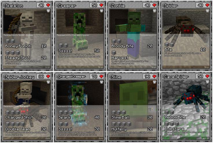 Minecraft Papercraft Minecraft Cards Minecraft