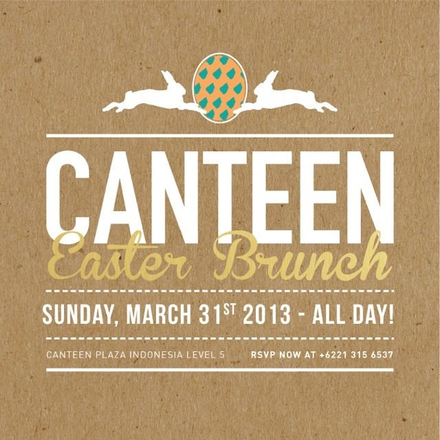 Canteen Easter Brunch