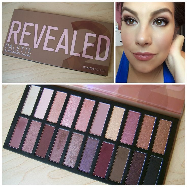 Beauty Broadcast: Just In: Coastal Scents Revealed 2 Palette!
