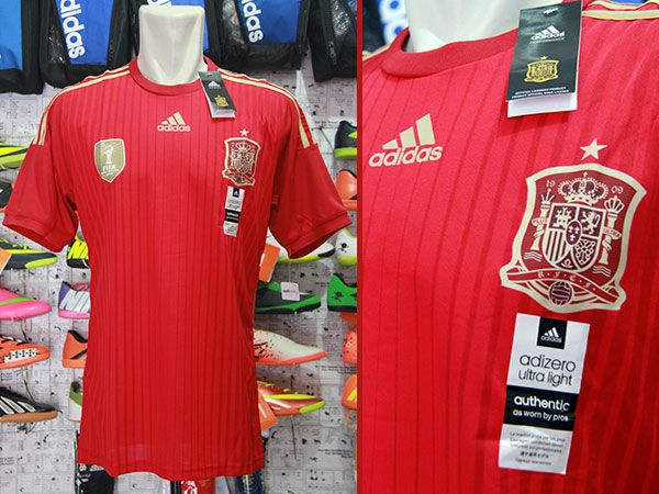 Jersey Spanyol Home World Cup 2014 Rp 110.000