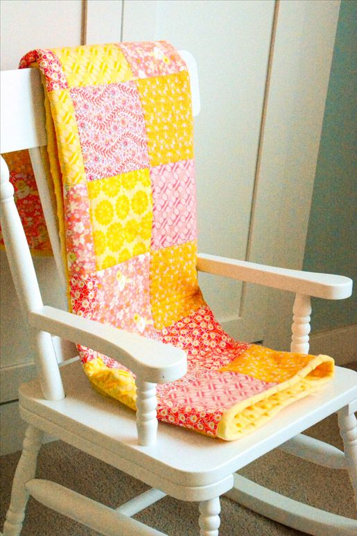 How to Make A Minky Backed Baby Quilt • WeAllSew • BERNINA USA's blog, WeAllSew, offers fun project ideas, patterns, video tutorials and sewing tips for sewers and crafters of all ages and skill levels.