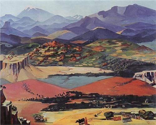 Armenia - Martiros Saryan