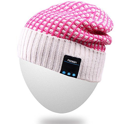 Cheap Mydeal Wireless Bluetooth Beanie Hat Cap Dual Knit For Men Women with Stereo Headphones Headsets Earphones Speakers Hands-free Phone Call for Gym Skiing Running Skating WalkingChristmas Gifts - Red Best Selling