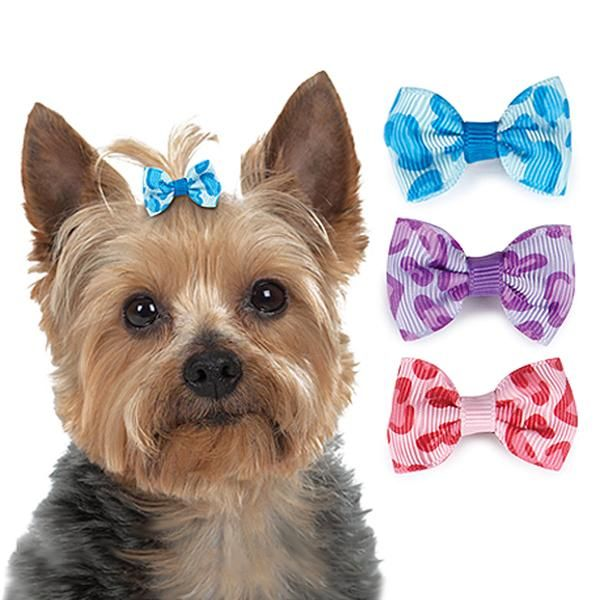 Puppy Dog Girls Doggy Kids Headband or Clip Bow