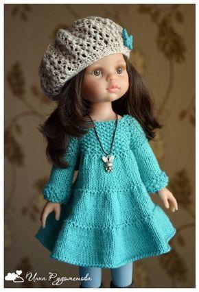 Pin By екатерина анушат On одёжки и обувка для кукол вязаная