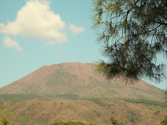 The sleeping Giant in summer