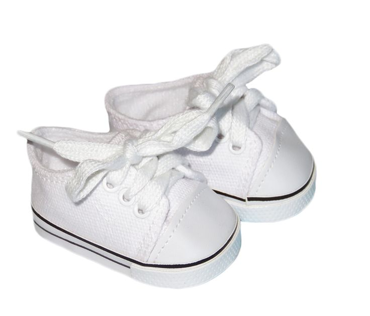 American Boy Doll Shoes.  Silly Monkey - White Low-Rise Canvas Sneakers, $6.50 (http://www.silly-monkey.com/products/white-low-rise-canvas-sneakers.html)