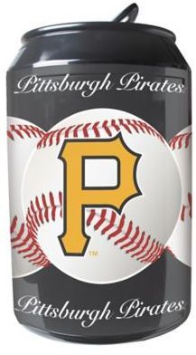 MLB Pittsburgh Pirates 11-Liter Portable Party Can Fridge
