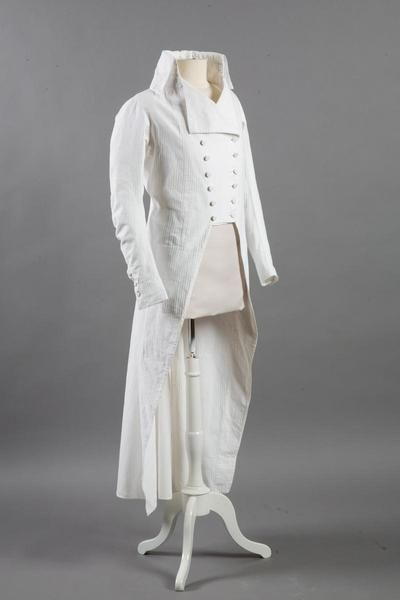 Frock coat, fourth quarter of the 18th century, Vendôme Museum.