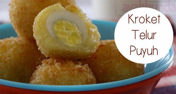 Kroket Telur Puyuh :: Croquettes Quail Eggs :: Klik link di atas untuk mengetahui resep kroket telur puyuh