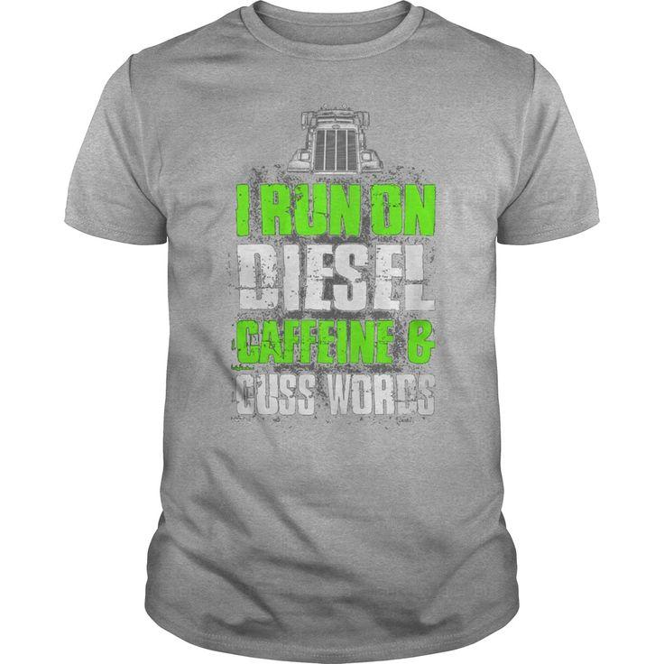 I Run On Diesel T-Shirt